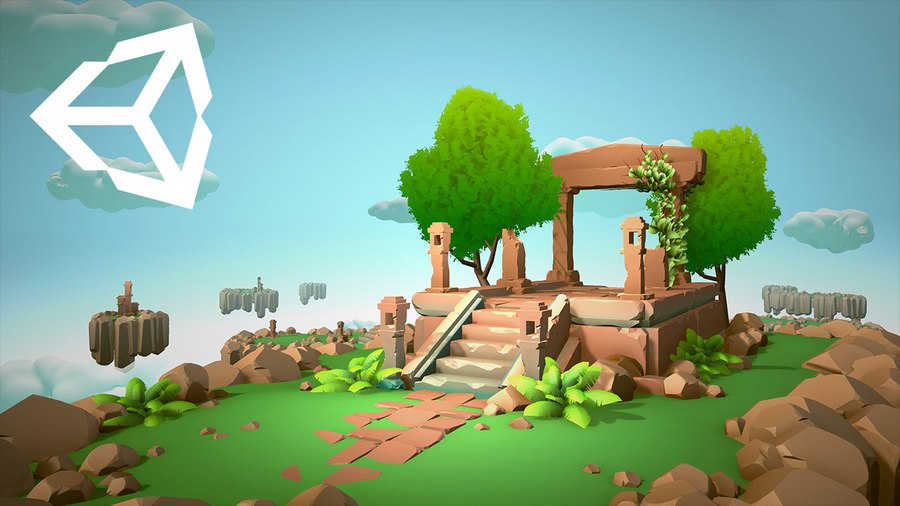 The procedural tools in this starter kit can be used to generate game art for your levels.